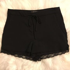 Forever 21 Lace Bottom Shorts
